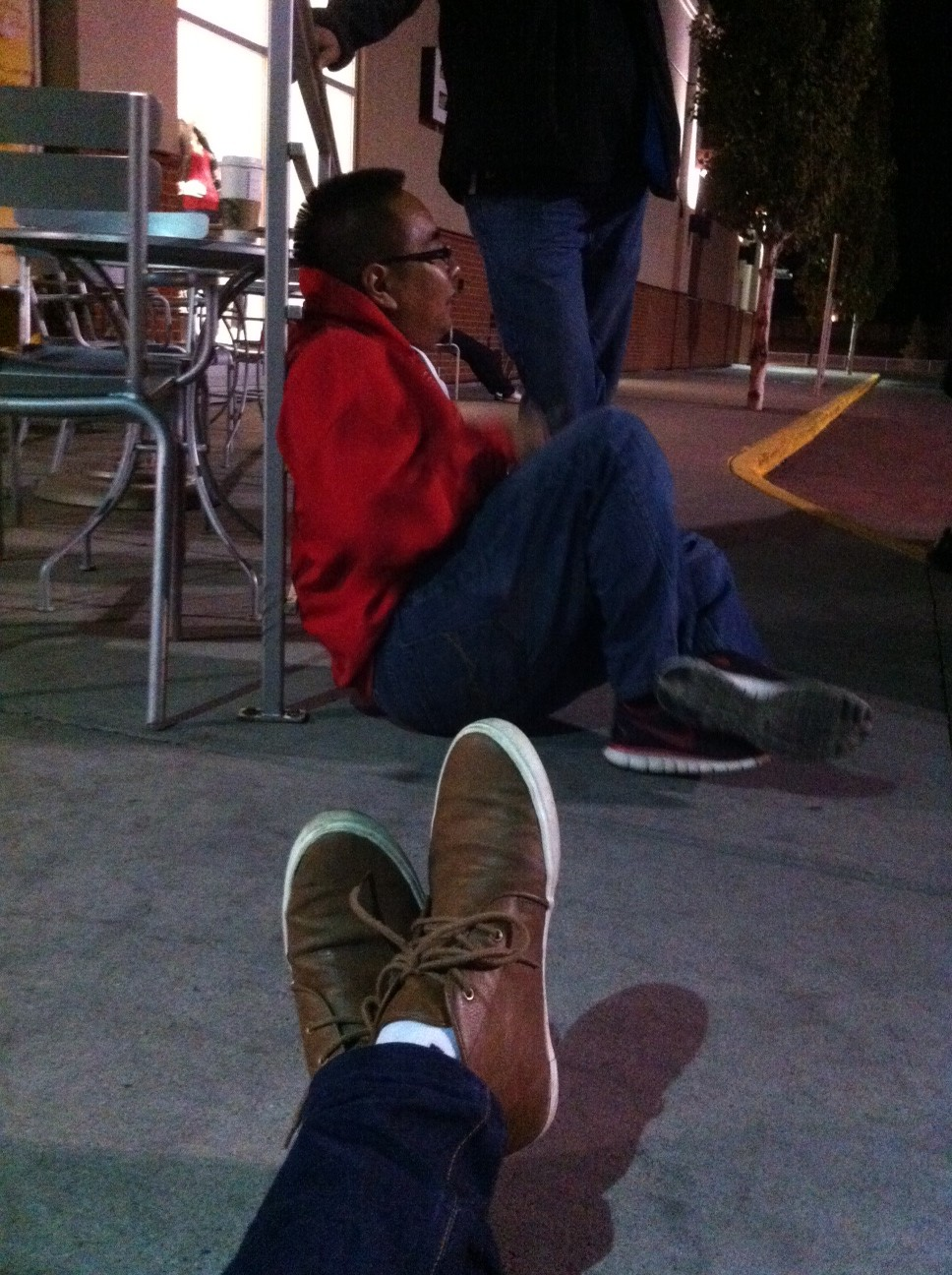 That time Aldrich and I camped outside Market Mall for the iPhone 5