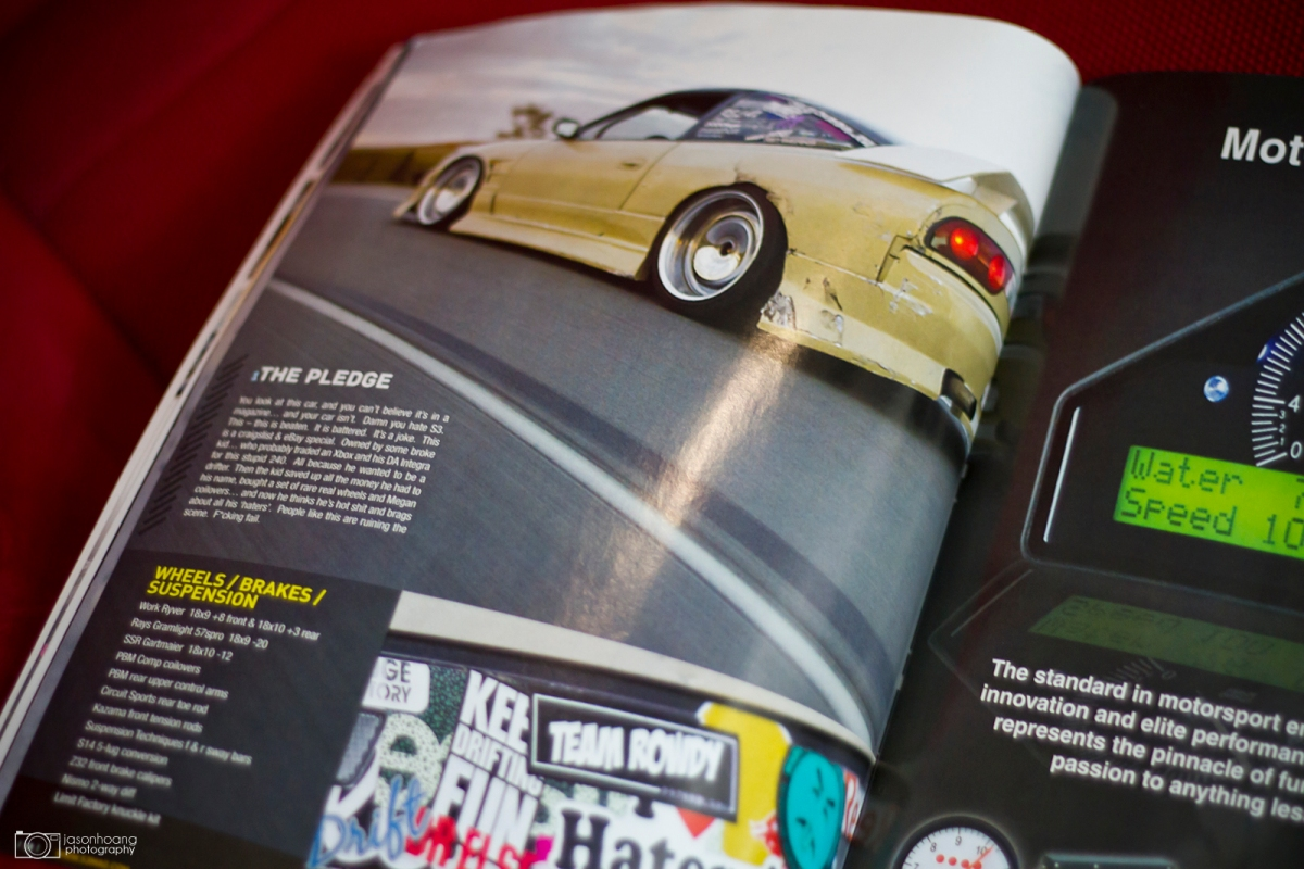 When I shot Eric's 240 and it got into S3 Magazine.