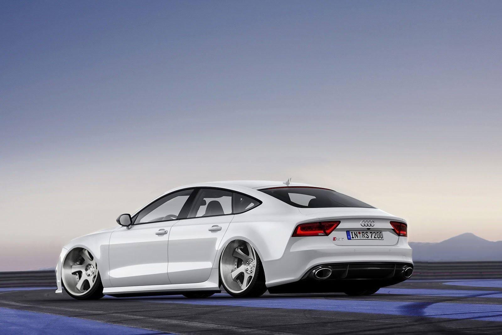 Audi Rs7 Wallpaper >> Photoshop: Audi RS7 x AME Shallen WX | lifewithjson